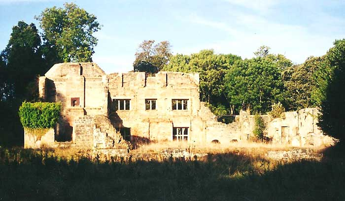 Tyneham House As It Is Today