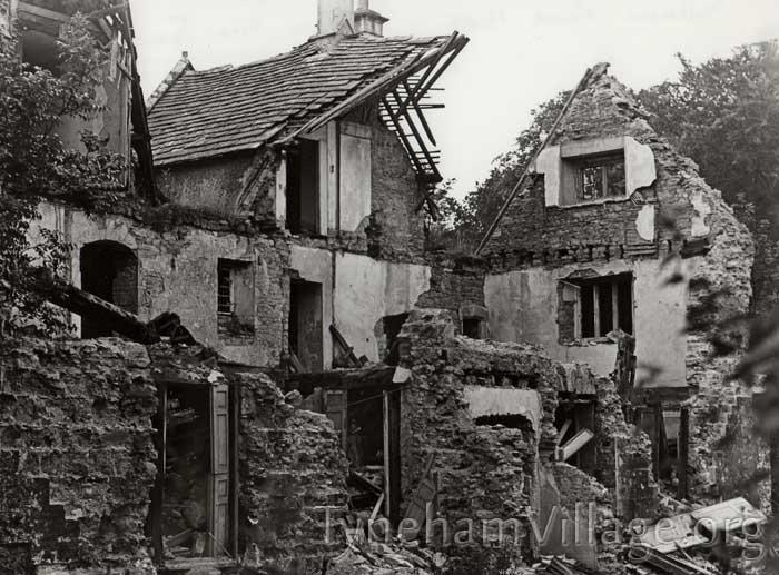 Tyneham House Still Standing